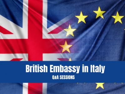 Q&A with British Embassy Italy Session 04.02.21