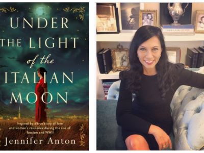 Author Jennifer Anton Reveals Under the Light of the Italian Moon