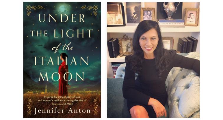 Author Jennifer Anton Reveals Under the Light of the Italian Moon