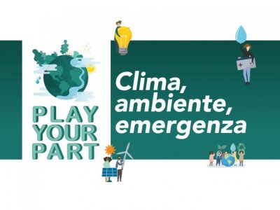 Climate Change Theatre: Play Your Part (English & Italian)
