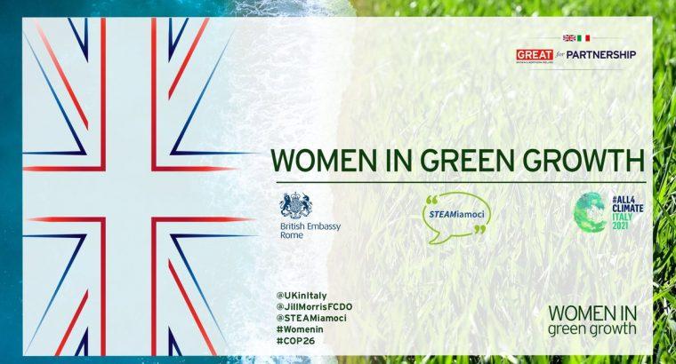 COP26: Women in Green Growth
