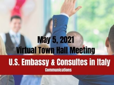 Virtual Town Hall Meeting for U.S. citizens