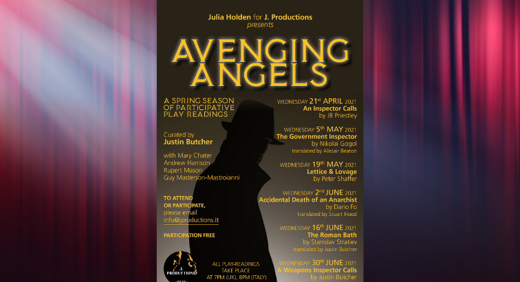 Avenging Angels: A Series of Online Play Readings in English