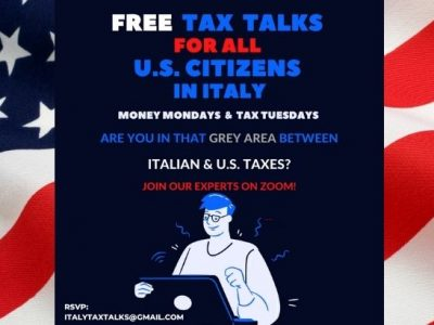 Free Series of Tax Talks for US Citizens