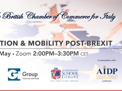 Immigration & Mobility Post-Brexit, BCCI Webinar – May 11, 2021
