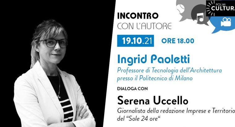 Meet the Author at Politecnico di Milano (Oct. 19, 2021)