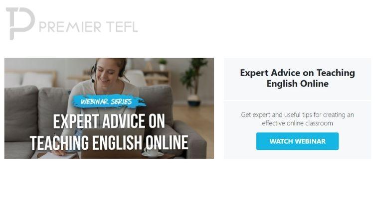 How to Teach English Online Webinars (on demand)