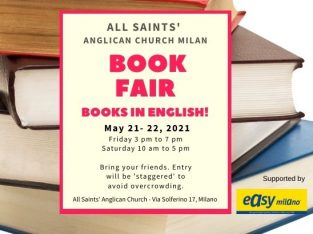 Book Fair with English Books, Handmade Jewelry & Toys! May 21- 22, 2021
