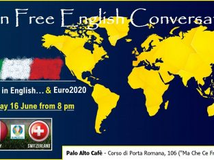 """Happy Hour in English in Milan… """"Euro2020 Version"""""""