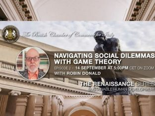 The Renaissance Series – Episode 2: Navigating Social Dilemmas with Game Theory (Sept. 14, 2021)