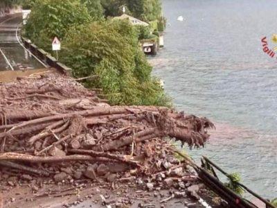 Lake Como Floods & Sicily Fires
