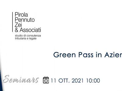BCCI: Webinar Green Pass in Azienda (Oct. 11, 2021)